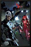 All-New X-Men 11 Featuring Havok, Scarlet Witch, Captain America, Thor, Rogue Prints by Stuart Immonen