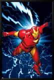 Marvel Two-In-One No.9 Marvel Adventures Iron Man Cover: Iron Man Posters av Michael Golden