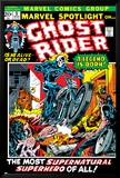 Marvel Spotlight Ghost Rider No.5 Cover: Ghost Rider Affiche par Mike Ploog