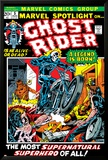 Marvel Spotlight No.5 Cover: Ghost Rider Posters par Mike Ploog