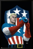 The Marvels Project No.5 Cover: Captain America Art by Steve MCNiven