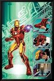 Iron Man: The End No.1 Cover: Iron Man Affiches par Bob Layton