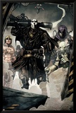 Secret Warriors No.7 Group: Scourge, Ghost, Headsman and Ant-Man Poster von Alessandro Vitti