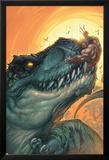 Ultimates 3 No.3 Cover: Wolverine Kunstdrucke von Joe Madureira