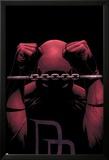 Daredevil No.82 Cover: Daredevil Print by Steve MCNiven