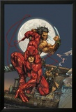 Astonishing Tales No.4 Cover: Daredevil, Wolverine and Punisher Prints by Kenneth Rocafort
