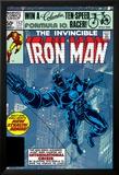 The Invinvible Iron Man No.152 Cover: Iron Man Affiches par Bob Layton
