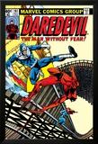 Daredevil No.161 Cover: Daredevil, Bullseye and Black Widow Poster van Frank Miller