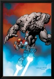 Ultimate Human No.1 Cover: Iron Man and Hulk Prints by Cary Nord
