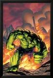 Marvel Adventures Hulk No.1 Cover: Hulk Print by Carlo Pagulayan