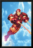 Iron Man: Iron Protocols No.1 Cover: Iron Man Fighting Bilder av Ariel Olivetti