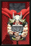 Thor: Blood Oath No.6 Cover: Thor Affischer av Scott Kolins