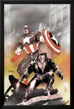 Wolverine Captain America No.1 Cover: Wolverine and Captain America Affiches par Tom Derenick