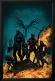 X-Force/Cable: Messiah War No.1 Cover: Wolverine, Cable, Archangel, X-23, Domino and Hope Posters by Kaare Andrews