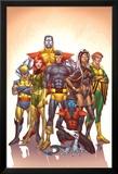 Uncanny X-Men: First Class No.1 Cover: Cyclops Affiches par Roger Cruz
