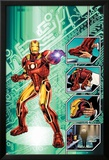 Iron Man: The End No.1 Cover: Iron Man Affiches par Bob Layton