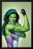 She-Hulk No.9 Cover: She-Hulk Posters by Mike Mayhew