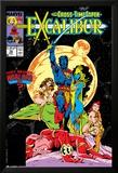 Excalibur No.16 Cover: Nightcrawler, Phoenix, Shadowcat and Kymri Affiches par Alan Davis