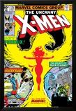 Uncanny X-Men No.125 Cover: Phoenix, Colossus, Storm, Madrox and Havok Posters par John Byrne