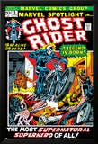 Marvel Spotlight Ghost Rider No.5 Cover: Ghost Rider Posters par Mike Ploog
