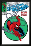 Amazing Spider-Man No.301 Cover: Spider-Man Swinging Print by Todd McFarlane