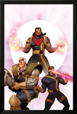X-Men: The Times and Life of Lucas Bishop No.3 Cover: Cable, Cyclops and Bishop Posters av Ariel Olivetti