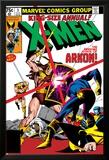 X-Men Annual No.3 Cover: Cyclops, Arkon and X-Men Posters van Frank Miller