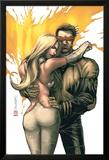 New X-Men No.156 Cover: Cyclops, Emma Frost and Phoenix Affiches par Salvador Larroca