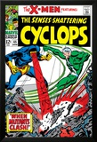 X-Men No.45 Cover: Quicksilver and Cyclops Poster by Werner Roth