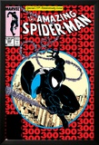Amazing Spider-Man No.300 Cover: Spider-Man Fighting and Flying Posters by Todd McFarlane