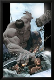 Ultimate Comics Ultimates No.8 Cover: Hulk Smashing Posters by Kaare Andrews