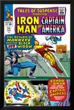 Tales Of Suspense No.64 Cover: Iron Man, Captain America, Hawkeye, Black Widow, Sando and Omar Posters by Don Heck