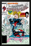 Amazing Spider-Man No.315 Cover: Spider-Man and Hydro-Man Print by Todd McFarlane