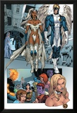 X-Men: Manifest Destiny No.2 Group: Storm, Angel and Emma Frost Posters by Michael Ryan