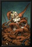Shanna, The She-Devil 7 Cover: Shanna The She-Devil Affischer av Frank Cho