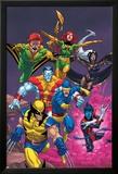Uncanny X-Men: First Class No.2 Cover: Wolverine Posters par Roger Cruz