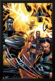 Ultimate X-Men No.50 Cover: Colossus, Wolverine, Nightcrawler, Grey, Jean, Cyclops, Storm and X-Men Posters by Andy Kubert