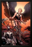 Ultimate New Ultimates No.4: Valkyrie and Hela Standing Posters av Frank Cho