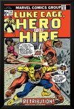 Marvel Comics Retro: Luke Cage, Hero for Hire Comic Book Cover No.14, Fighting Big Ben Arte