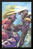 Sentinel No.3 Cover: Sentinel Jumping Kunstdrucke von Joe Vriens