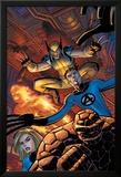 Wolverine No.22 Cover: Wolverine Láminas por John Romita Jr.