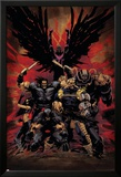 X-Force No.16 Cover: Wolverine, X-23, Cable, Warpath, Apocalypse and Archangel Prints by Kaare Andrews