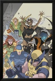 Uncanny X-Men: First Class No.4 Cover: Wolverine, Cyclops, Phoenix, Storm and Nightcrawler Posters par Roger Cruz