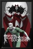 Avengers Origins: The Scarlet Witch & Quicksilver No.1 Cover Art par Marko Djurdjevic
