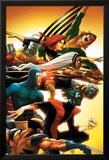 Uncanny X-Men: First Class No.5 Cover: Wolverine Posters par Roger Cruz