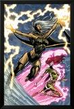 Uncanny X-Men: First Class No.6 Cover: Storm and Phoenix Poster par Paul Pelletier