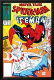 Marvel Tales: Spider-Man No.227 Cover: Spider-Man and Iceman Fighting Prints by Todd McFarlane
