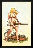 Shanna, The She-Devil No.4 Cover: Shanna The She-Devil Posters av Frank Cho