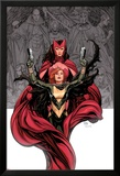 Avengers Vs. X-Men No.0 Cover: Hope Summer and Scarlet Witch Poster av Frank Cho