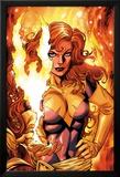 X-Men Forever 2 No.16 Cover: A Flaming Phoenix Affiches par Tom Grummett